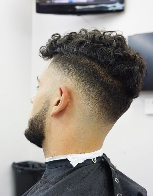 Stylish Curly Fade Hairstyles For Men To Try