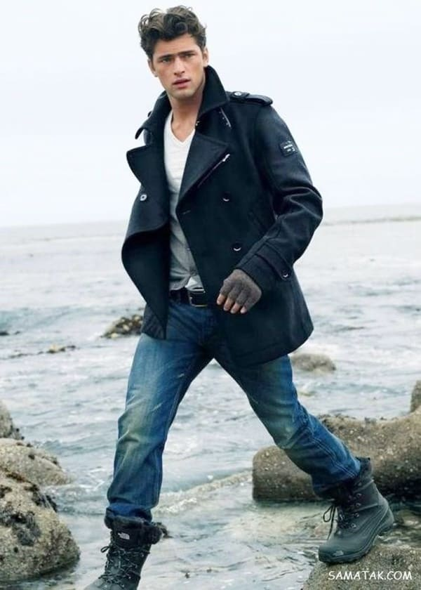 Dynamic And Fashionable Pea Coats For Men