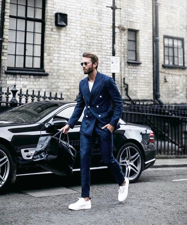 Stylish Double Breasted Suit Ideas For Men