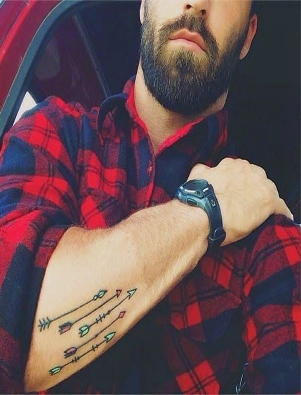 Cool And Stylish Arrow Tattoos For Men